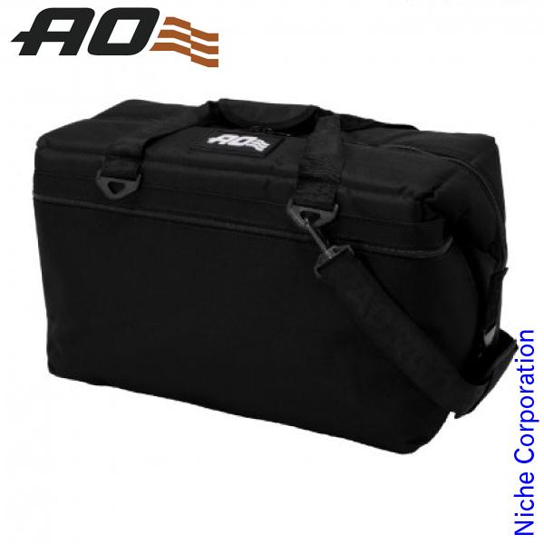 AOクーラーズ 36パック キャンバス ソフトクーラー AO36-BK キャンプ用品