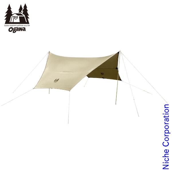 キャンパル フィールドタープヘキサDX 3333-80 キャンプ用品