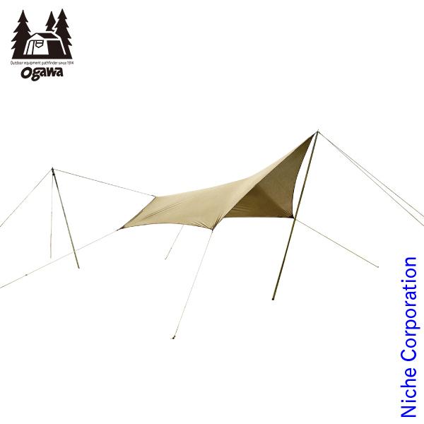 キャンパル システムタープ ペンタ3x3 3337-80 キャンプ用品