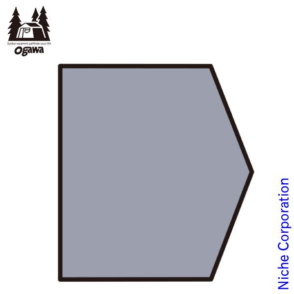 オガワキャンパル ( ogawa ) PVCマルチシート ネオキャビン用 1432 キャンプ用品