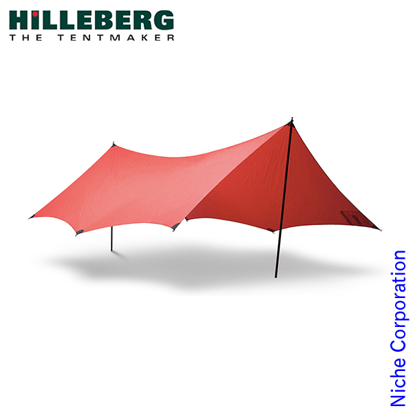 ヒルバーグ タープ10エクスペディション レッド 12770029004010