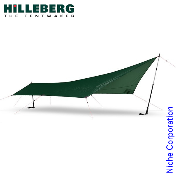 ヒルバーグ タープ5 ウルトラライト グリーン 12770175008000