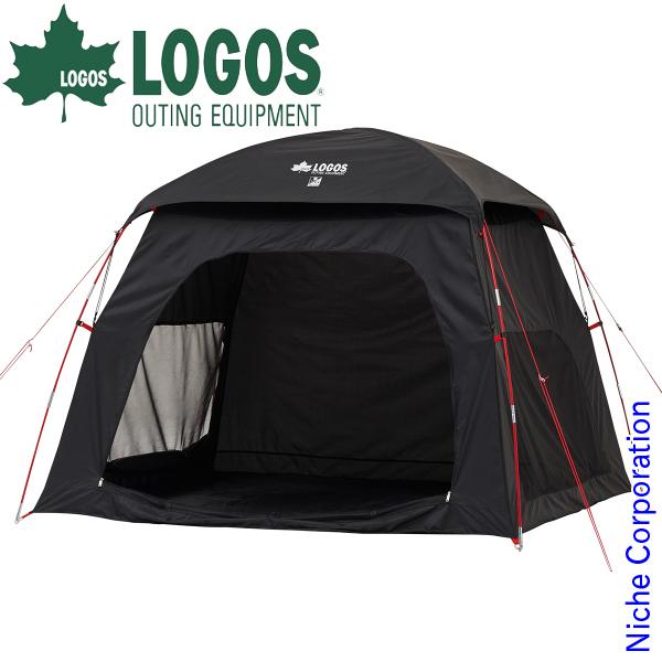 ロゴス Black UV スクリーンシェードM-AI 71809032 キャンプ用品