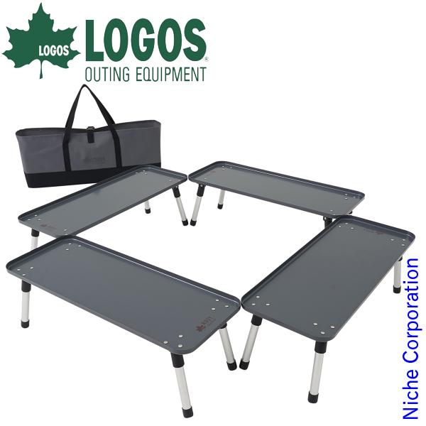 ロゴス テーブル ROSY 囲炉裏ラックテーブル アウトドア 折りたたみ 机 キャンプ