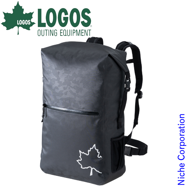 ロゴス SPLASH mobi ダッフルリュック50 (ブラックカモ) 88200176 キャンプ用品