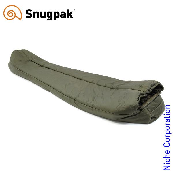 スナグパック ソフティー18 アンタークティカ センタージップ オリーブ SP00111OL シュラフ 化繊 マミー型