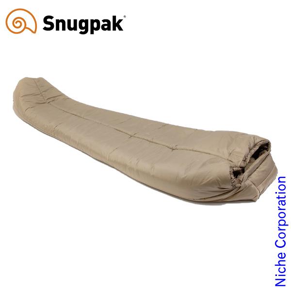 スナグパック ソフティー18 アンタークティカ センタージップ デザートタン SP01415DT シュラフ 化繊 マミー型