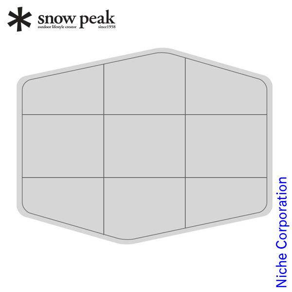 スノーピーク ランドブリーズPro.1 インナーマット TM-641 キャンプ用品