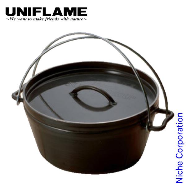 ユニフレーム クッカー UFダッチオーブン 10インチ キャンプ ダッジオーブン 鍋 ダッヂ アウトドア