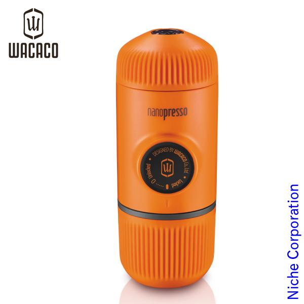 WACACO(ワカコ) ナノプレッソ オレンジ WACACO1030