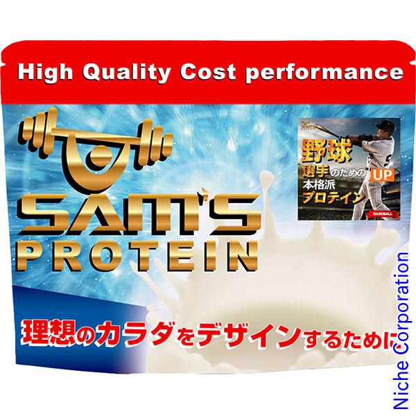 SAM'S アスリートベースボールパワープロテインUP 3000g リッチココア味 SBP30001