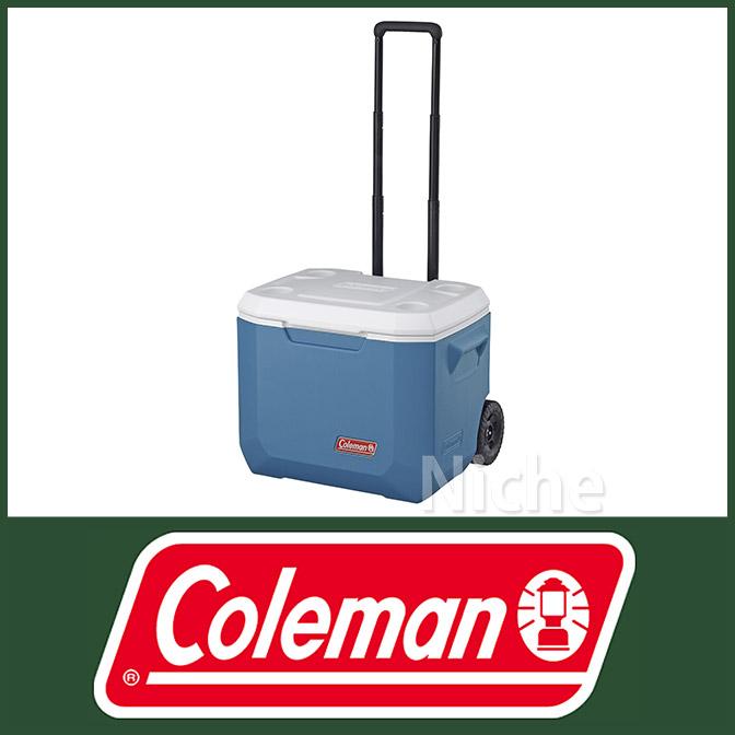 コールマン エクストリーム ホイールクーラー/50QT (アイスブルー) 3000003087 クーラーボックス nocu キャンプ用品