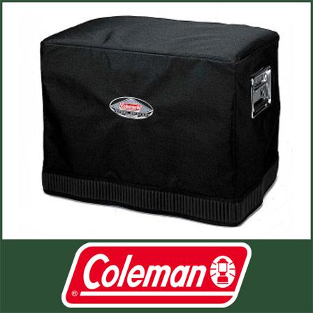 科尔曼钢铁皮带冷气设备覆盖物(黑色)[6155-357XJ][供Coleman科尔曼钢铁皮带冷气设备54qt使用的覆盖物|户外露营用品汽车野营用品]
