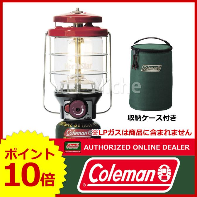 コールマン 2500ノーススター LPガスランタン(レッド) 2000015521 [P10] キャンプ用品
