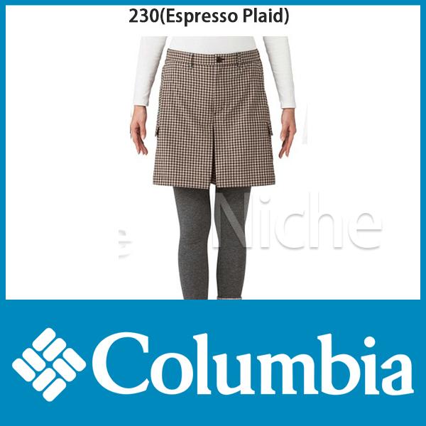 コロンビア W's カルガリークリークキュロット 女性用 (Espresso Plaid) [ PL4018-230 ][women][レディース]