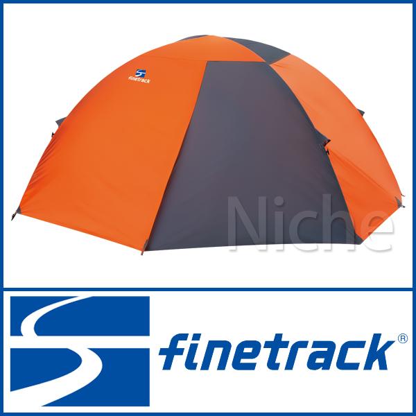 finetrack ファイントラック カミナドーム2 (オレンジ/グレー) FAG0312(OGGY) [ [ FAG0312(OGGY) ] キャンプ finetrack 用品, 家具のアイテム:bf79a107 --- officewill.xsrv.jp