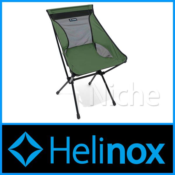ヘリノックス キャンプチェア (グリーン) 1822156-GN シート キャンプ用品 nocu