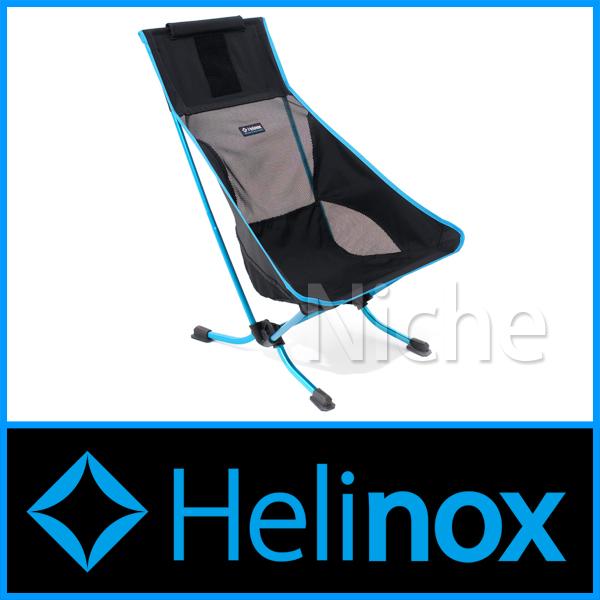 ヘリノックス ビーチチェア (ブラック) 1822169-BK シート キャンプ用品 nocu