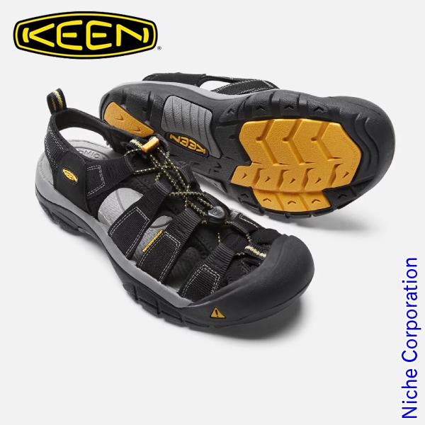 KEEN キーン Newport ニューポート H2  (BLACK ブラック) メンズ [ 1001907 ][Men's][男性用]