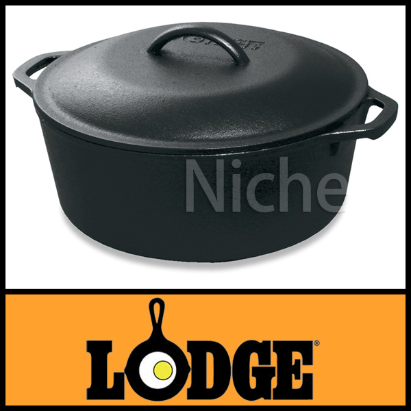 ロッジ キッチンオーヴン ループハンドル10 1/4インチ L8DOL3 キャンプ用品