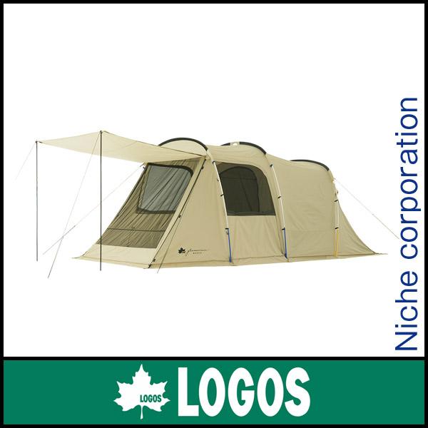ロゴス グランベーシック トンネルドーム XL-AG 71805023 [P5] キャンプ用品 テント タープ