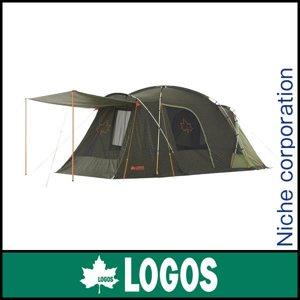 ロゴス neos プレーリー2ルーム・PLR L-AG 71805024 [P10] キャンプ用品