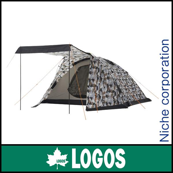 ロゴス ベーシックドーム・PLR XL(カモフラ) 71805026 [P10] キャンプ用品