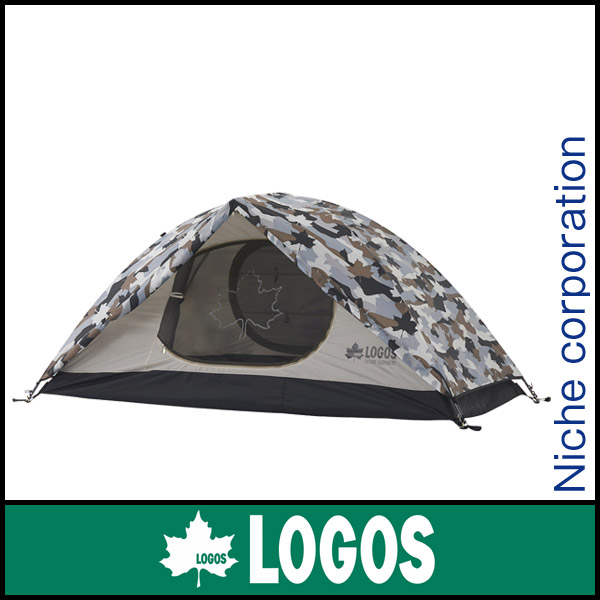 ロゴス SOLOドーム(カモフラ) 71806007 [P10] キャンプ用品