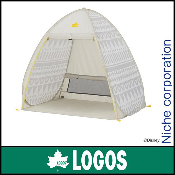 ロゴス ミッキーマウス 安心コンパクトフルシェード FOR MAMA 86003660 [P10] キャンプ用品 テント タープ