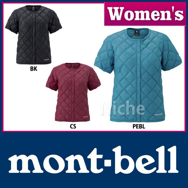 MontBell down superior round neck T-Women's #1101507