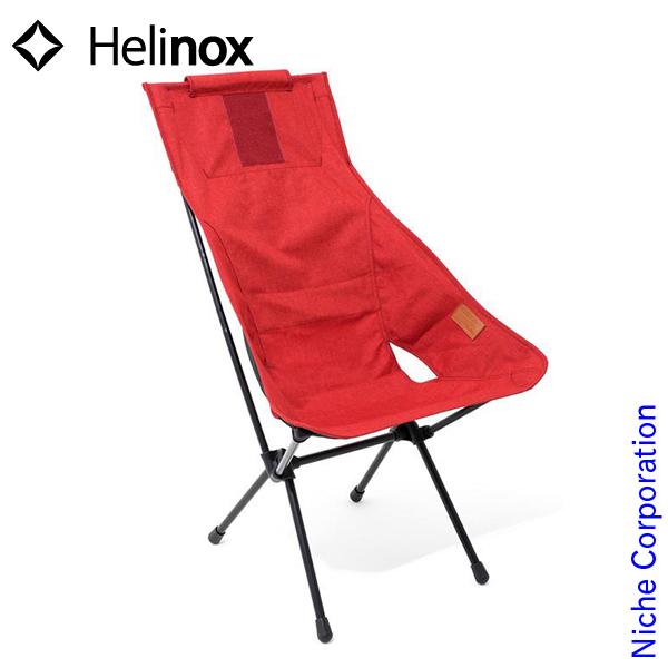 ヘリノックス サンセットチェア (レッド) 19750004004001 イス キャンプ用品 冬キャンプ