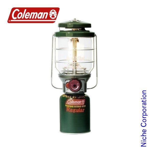 コールマン 2500ノーススター LPガスランタン(グリーン) 2000015520 キャンプ用品 防災