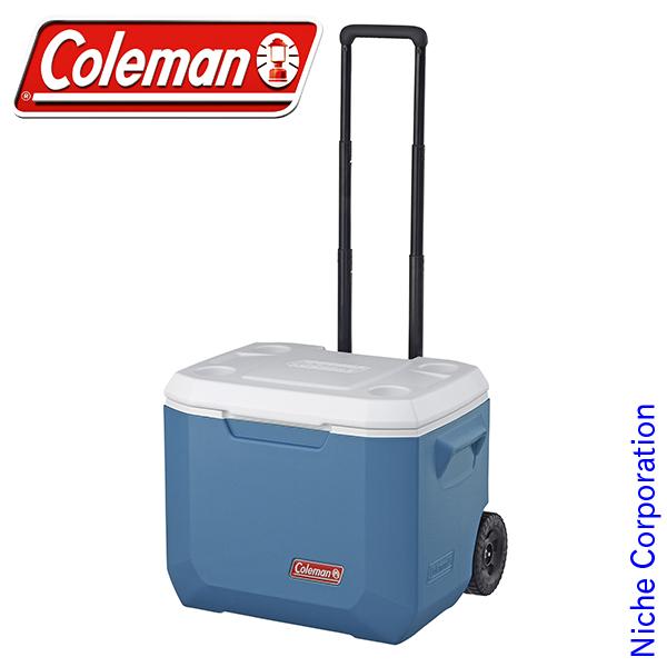 コールマン エクストリーム ホイールクーラー/50QT (アイスブルー) 2000031628 クーラー ボックス キャンプ用品 キャスター