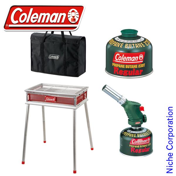 コールマン BBQ セット 20150315 [P10] キャンプ用品 初心者 入門 セット エントリー