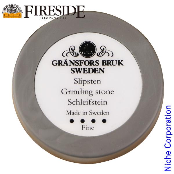 Gransfors Bruk 流行のアイテム メンテナンス 薪ストーブ 暖炉 グレンスフォシュブルーク 即納 ディスクストーン ゴムケース付き 4034 ファイヤーサイド メーカー品番 薪 Fireside 薪割り斧 4033 研ぎ石
