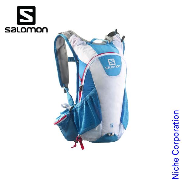 サロモン アジャイル2 12 セット (METHYL BLUE | WHITE | LOTUS PINK) [ L37375400 ] リュック