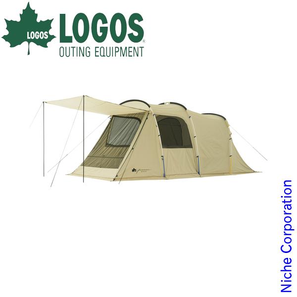 ロゴス グランベーシック トンネルドーム XL-AG 71805023 キャンプ用品 テント タープ トンネル型テント 2ルームテント