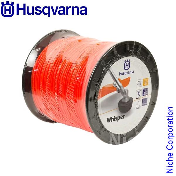 ハスクバーナ ウィスパー [ 2.4mm/240m/オレンジ [H5784363-01] ウィスパー [ ハスクバーナ Husqvarna ハスクバーナ | 草刈機・刈払機 用 ナイロンコード ], 新着商品:4bebddbb --- sunward.msk.ru