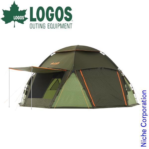 ロゴス タープ スペースベース デカゴン-N キャンプ ドーム型 イベント 家族 ファミリー