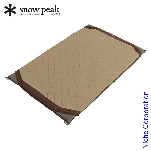 スノーピーク グランドオフトン ダブル マットカバー BD-054 SNOW PEAK スノーピーク シュラフ オプション 寝袋 シュラフ マット カバー nocu キャンプ用品 防災