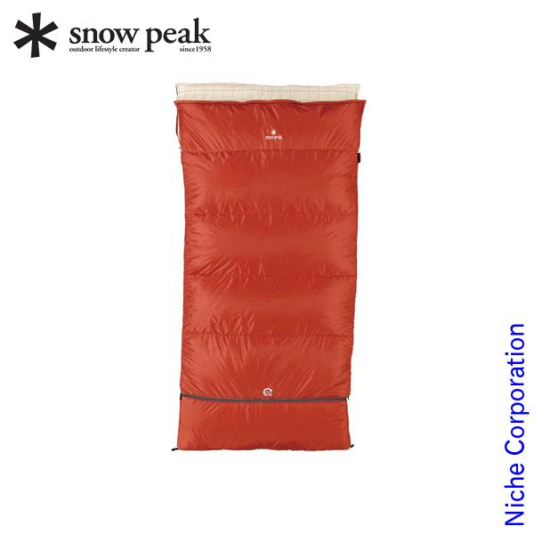 スノーピーク シュラフ セパレートシュラフ オフトンワイド LX BD-104 キャンプ 布団 アウトドア 寝具