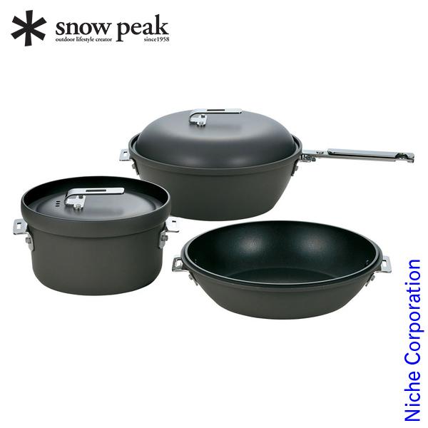 スノーピーク クッカー パンクッカー CS-600 キャンプ パン アウトドア 鍋 調理器具 来客用 新生活