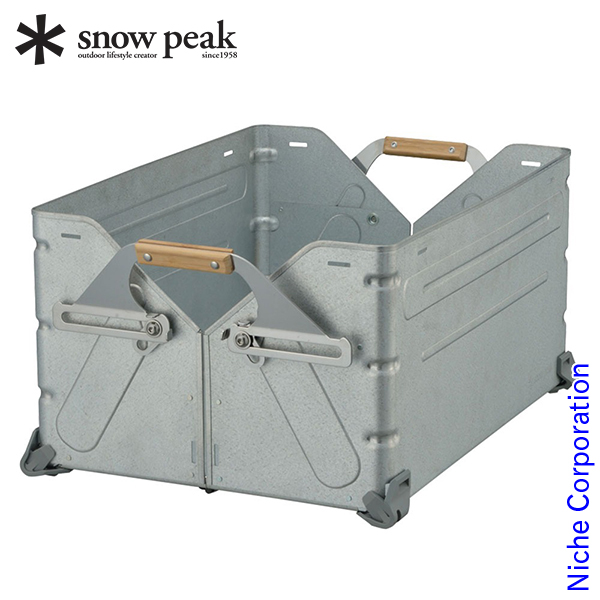 スノーピーク シェルフコンテナ50 UG-055G スノーピーク snow peak ShopinShop bbq バーベキュー アウトドア キャンプ用品 gr-1903SS