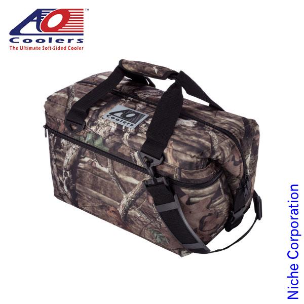 AOクーラーズ 24パック モッシーオーク (22.7L モッシーオークカモ) AOMO24 キャンプ用品 クーラーバッグ