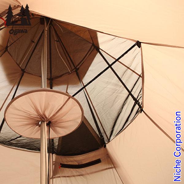 【最大1,000円OFFクーポン配信中】キャンパル ピルツ15フルインナー 3535 テント キャンプ用品 冬キャンプ