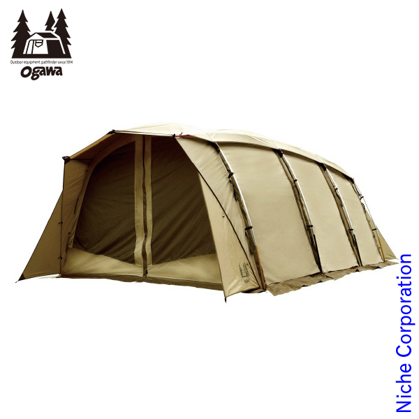 オガワキャンパル ( ogawa ) アポロン (5人用アーチ型テント) 2774 キャンプ用品