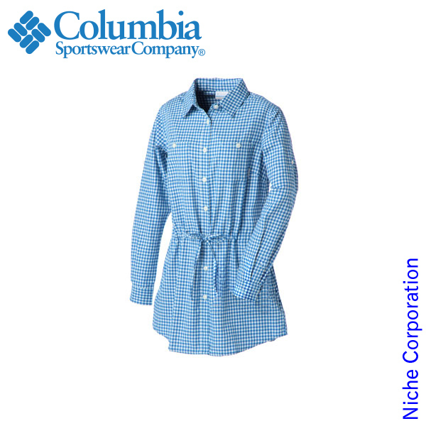 コロンビア ヘルムケンフォールズウィメンズシャツ Blue Jay PL7874-072 レディース シャツ 春夏