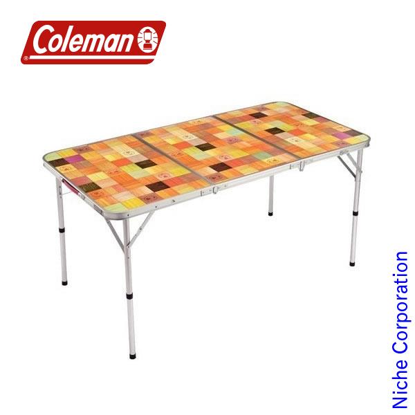 コールマン ナチュラルモザイク リビングテーブル/140プラス 2000026750 テーブル 折りたたみ キャンプ用品