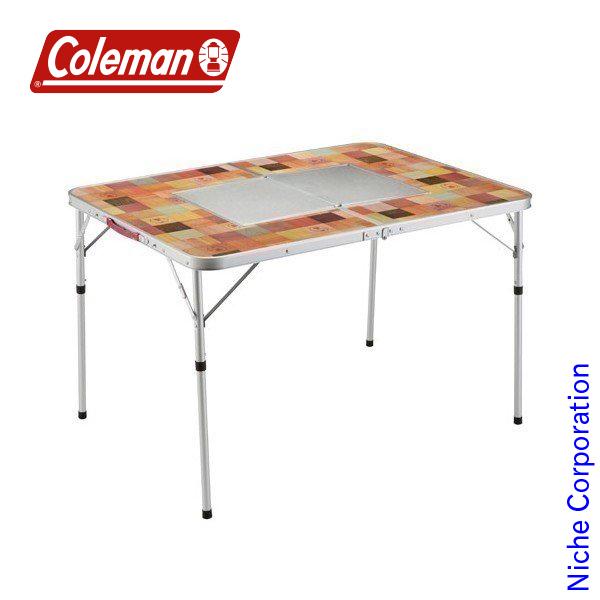 コールマン ナチュラルモザイクBBQテーブル/110プラス 2000026760 キャンプ用品