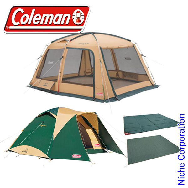 コールマン タフスクリーンタープ/400&タフワイドドームIV/300STパッケージ セット